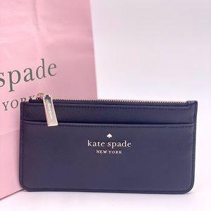 Kate Spade Large Slim Card Holder Black